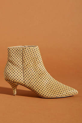 Anthropologie Ana Kitten-Heeled Booties