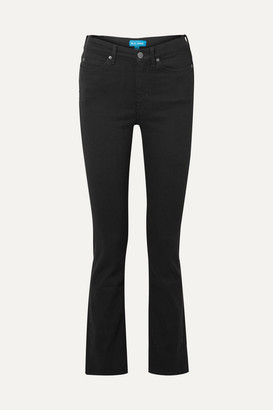 MiH Jeans Daily High-rise Straight-leg Jeans - Black