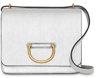 Burberry The Small Metallic Leather D-ring Bag