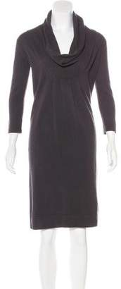 Fabiana Filippi Wool Cowl Neck Dress