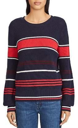 Ralph Lauren Striped Shaker Stitch Sweater