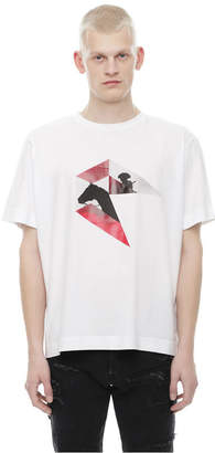 Diesel Black Gold Diesel T-Shirts BGTKA - White - S
