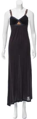 VPL Lurex-Accented Maxi Dress