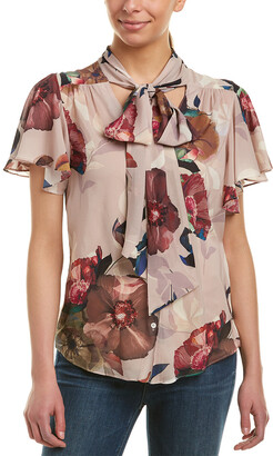 Trina Turk Bracken Silk Top