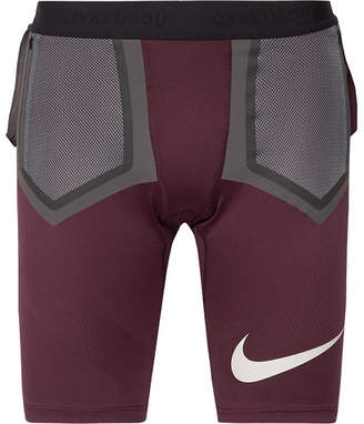d762156982 Nike X Undercover + Gyakusou Dri-Fit Techknit Compression Shorts