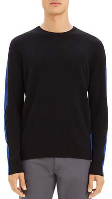 Theory Evers Color-Block Cashmere Sweater