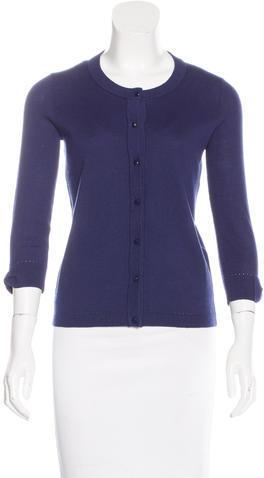 Kate SpadeKate Spade New York Knit Button-Up Cardigan