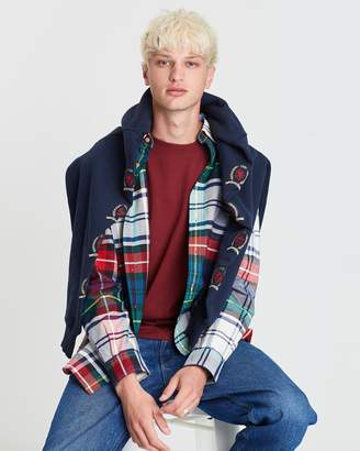 Tommy Jeans Plaid Crest Shirt - Men's
