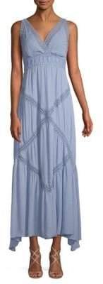Max Studio V-Neck Lace Dress