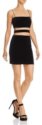 Tiger Mist Candice Velvet Cutout Dress