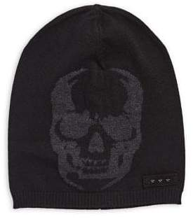 John Varvatos Graphic Merino Wool Beanie