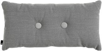 Design Within Reach Dot Pillow in Steelcut Trio Fabric, Two Dots