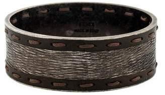 Fendi Stitched Selleria Bangle