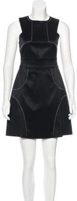 Thomas Wylde Embellished Sleeveless Dress