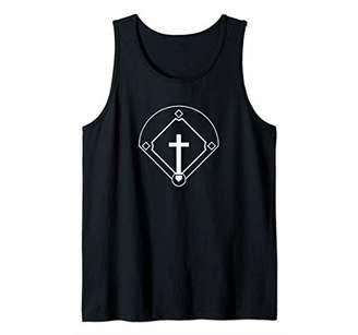 Baseball Diamond Cross