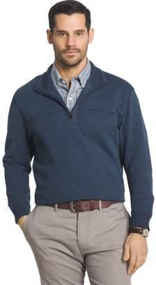 Arrow Men's Classic-Fit Sueded Fleece Quarter-Zip Pullover