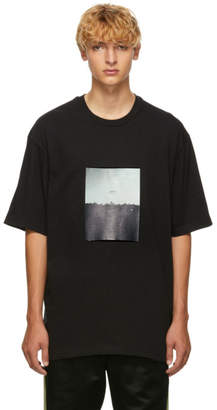 Song For The Mute Black Plastic Oversized T-Shirt