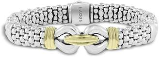 Lagos 18K Gold and Sterling Silver Derby Bracelet