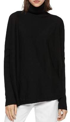 AllSaints Koko Faux-Wrap Sweater