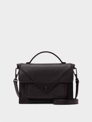 DKNY Jaxone Leather Small Flap Crossbody