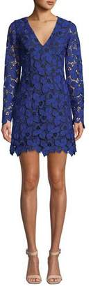 Dress the Population Katherine Short Lace Cocktail Dress