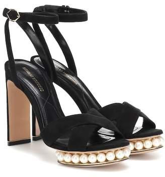 Nicholas Kirkwood Casati faux pearl-embellished sandals