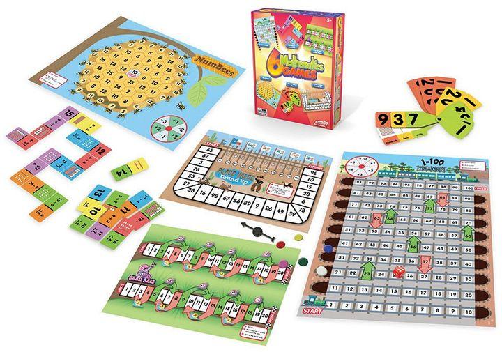 Junior Learning  Mathematics Games Set