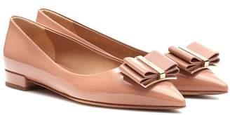Salvatore Ferragamo Zeri patent leather ballet flats