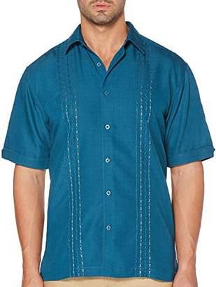 Cubavera Men's Short Sleeve Embroidered Shirt
