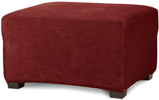 Sure Fit Stretch Piqu 1-pc. Ottoman Slipcover