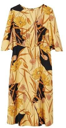MANGO Flared sleeves dress
