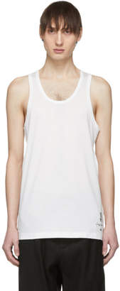 Y-3 White New Classic Tank Top