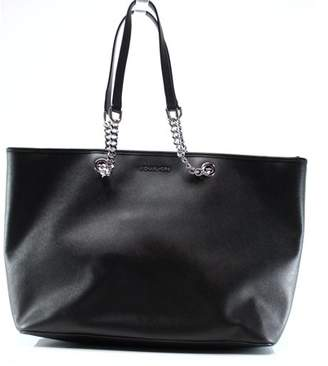 Michael Kors NEW Black Saffiano Jet Set Travel Chain Tote Bag Purse