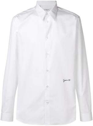 Givenchy signature slim fit shirt