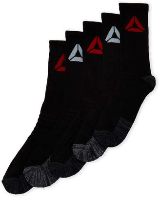 Reebok 5-Pack Performance Training Crew Socks