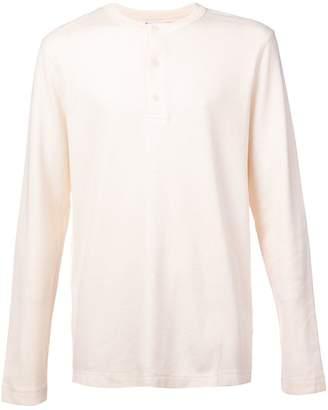 Sunspel grandad T-shirt