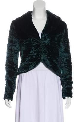 Yigal Azrouel Faux Fur Casual Jacket