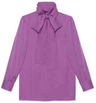 Gucci Silk satin shirt