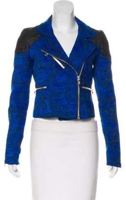 Alexis Velvet Jacquard Jacket