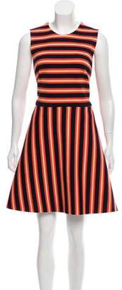 Novis Striped A-Line Dress
