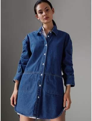 Burberry Japanese Cotton Shirt Dress