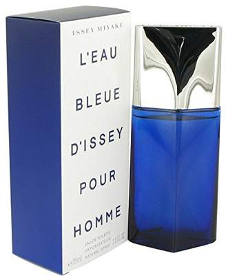 Issey Miyake L'EAU BLEUE D'ISSEY POUR HOMME by Eau De Toilette Spray 2.5 oz by