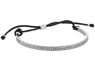 French Connection Pave Cuff with Cord Bracelet Bracelet