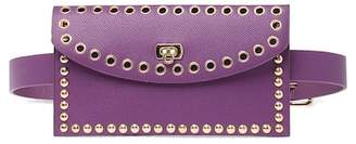 Pink Haley Remi Studded Belt Bag