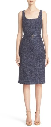 Women's Michael Kors Wool Jacquard Dress $1,395 thestylecure.com