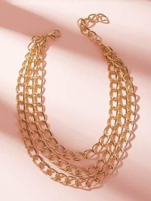 Shein Layered Chain Choker 1pc