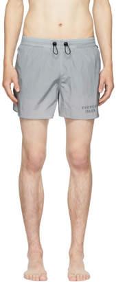Everest Isles Grey Runner 01 Swim Shorts