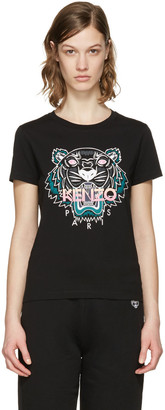 Kenzo Black Tiger T-Shirt $110 thestylecure.com