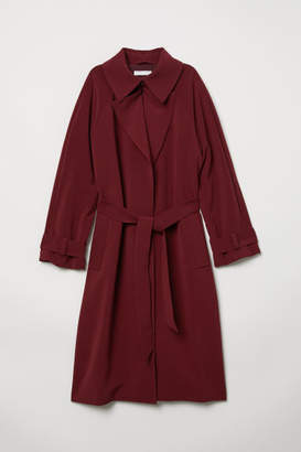 H&M Trenchcoat - Red