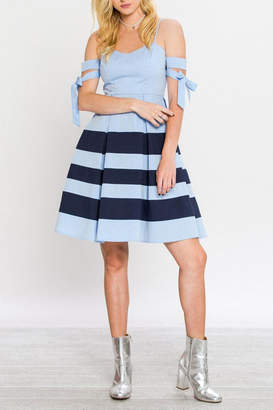 Flying Tomato A-Line Nautical Dress